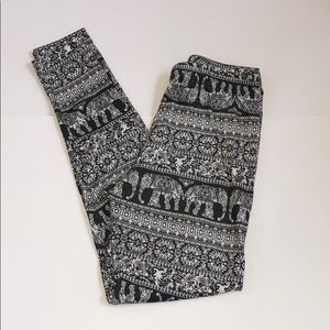 LA Hearts Elephant print leggings (F19)